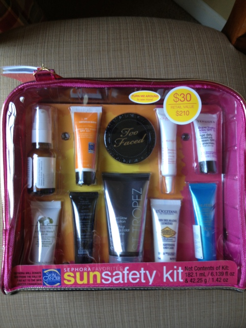 sun safety kit 2013